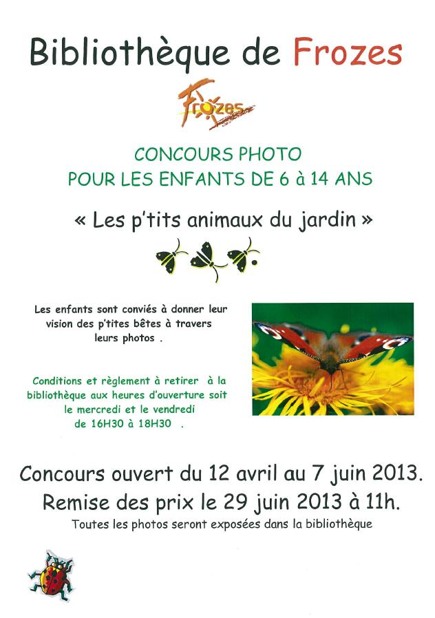 Concours photo frozes 2013